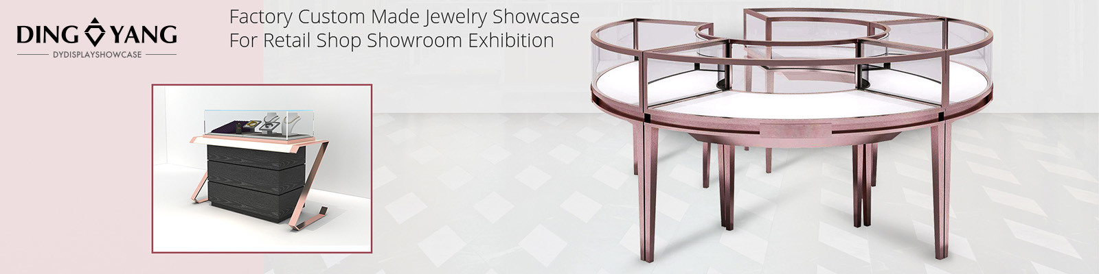 China best Jewelry Showcase Display on sales