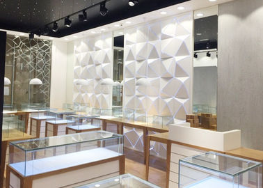 China High End Attractive Lighting Jewelry Store Display Cases / Jewelry Store Fixtures factory