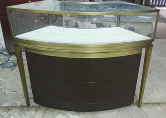 China Small Jewellery Shop Display Counters / Glass Jewelry Case With Multi Color factory