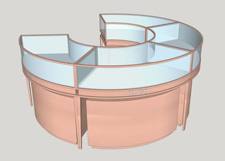 China Stainless Steel Jewellery Shop Display Counters / Jewellery Display Cabinet factory