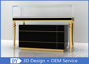 OEM Jewelry Showcase Display Pull - Out Drawers With Lights And Locks