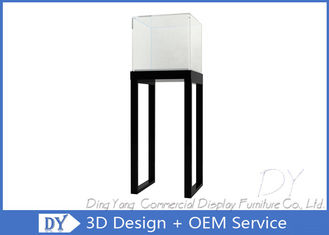China Simlpe Glass Jewellery Cabinet With Eco - Friendly Non - Toxic Materials factory