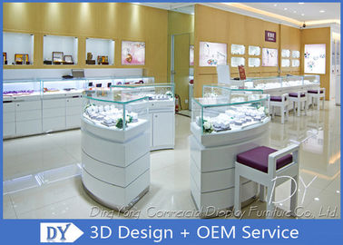 Attractive Jewellery Counter Display / Gold Shop Counter Design