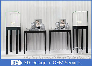 China Free Standing Jewelry Display Cases / Jewellery Shop Display Cabinets factory