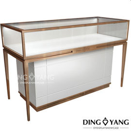 Metal Framed 1350X550X960MM Glass Store Display Case