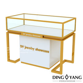 Lockable Table Top Glass Jewelry Display Cases