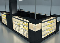 China Elegant Appearance Jewelry Showcase Kiosk With Fully - Enclosed Structure factory