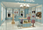 Children Apparel Showroom Retail Clothing Store Fixtures Fully - Disassemble Structure supplier