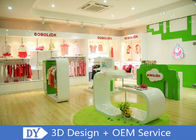 Modern Fashion Kid Clothing Store Interior Design With Custom Size Color Logo