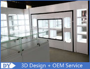 China Lacquer Finished Store Jewelry Display Cases / Jewellery Shop Display Counters factory