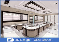 China Contemporary Showroom Display Cases With International Standard Safe And Heatproof Tempered Glass factory
