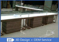 One Stop Service Modern Jewellery Shop Furniture With Lighting / Locks