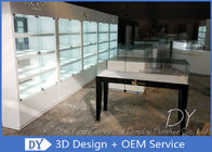 China Factory Custom Large Space Modern Jewelry Store Display Showcase / Jewellery Display Counter factory