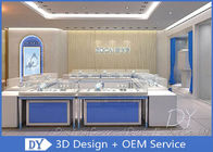 China High End Jewellery Table Showcase For Shopping Mall And Retail Store factory