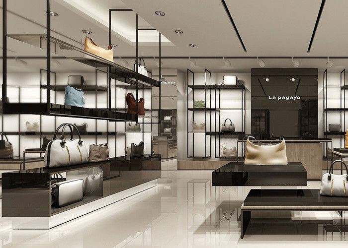 Disembly Structured Handbag Display Cabinet Retail Bags Interior Design