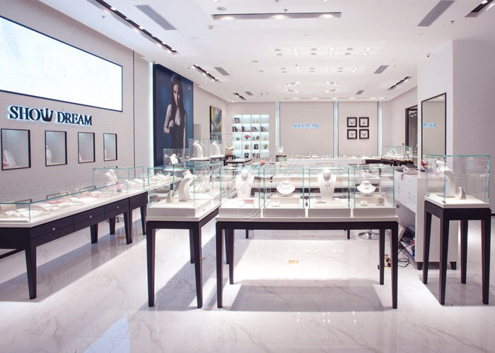 Oem Showroom Display Cases Fashion Jewellery Shop