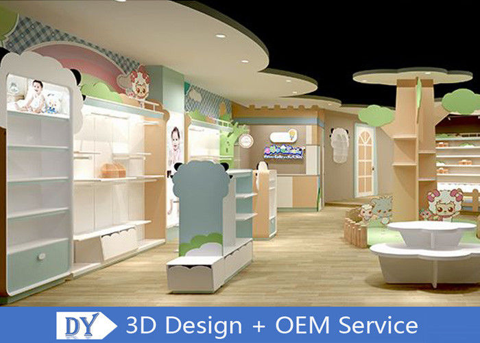 Lovely Kids Clothing Store display Furniture With Led Lighting Easy Install Dis - Assembly & Lovely Kids Clothing Store display Furniture With Led Lighting Easy ...