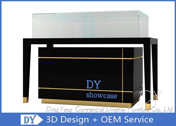 High End Glass Jewelry Display Cases For Supermarket Or Retail Store supplier