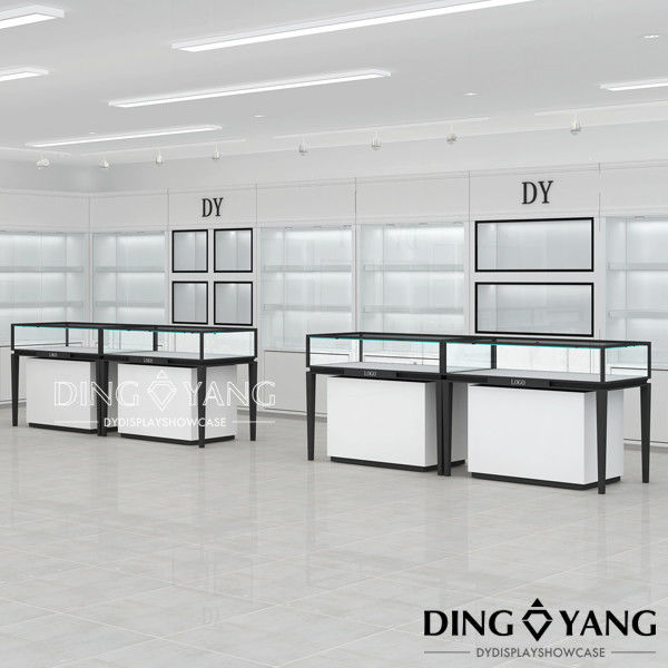 Fully Assembled Custom Made Showroom Display Cases