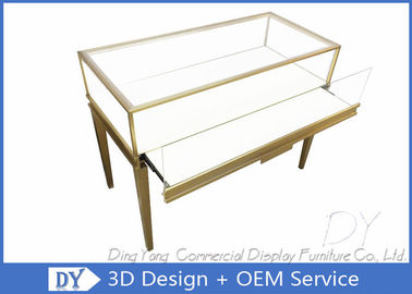 Customized Simple Jewellery Showcase Furniture For Retail Shop